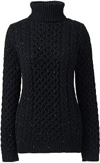 Women's Cozy Lofty Cable Turtleneck Sweater