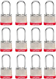Best 8 pack keyed alike padlocks Reviews