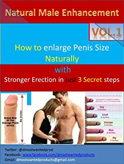Natural Male Enhancement: How To Enlarge Your Penis Size Naturally