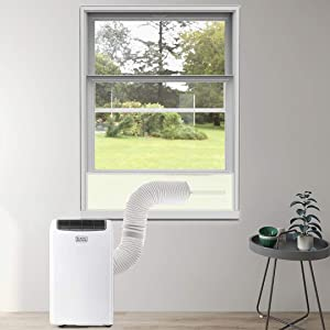 Portable Air Conditioner Parts & Accessories - air conditioner window kit - portable Ac Window Kit - Sliding Door Window Vent Kit - Fits For Hoses Of Different Sizes - Adjustable Length Of 100-154cm