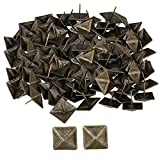 Bqlzr 30x 30mm bronzo antico quadrato per tappezzeria Tack piramide borchie vintage mo...