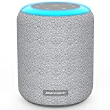 BUFFBEE White Noise Machine for Sleeping Adults and Baby - 17 Soothing Sounds, Night Light, Timer and Memory Function, Black and White Fabric Cover, Loud Enough Sound Machine for Home Office