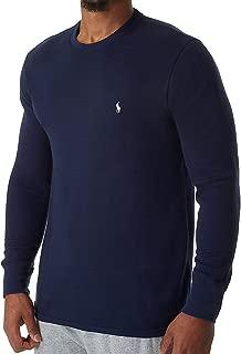 Polo Ralph Lauren Lightweight Waffle Long Sleeve Crew Sleep Shirt (PW74FR)