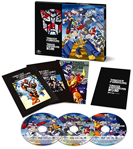 [イッキ見! ]戦え! 超ロボット生命体トランスフォーマー&2010 ダブル Blu-ray SET〈期間限定生産〉