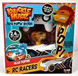 Knuckle Headz R/C Remote Control Rechargable Crash Derby Race Car with Easy-Turn Technology - Clawd The Lion