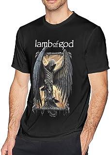 Lamb of God 3-Edit Men`s T Shirts Durable