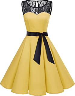 black and yellow dresses for prom