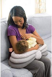 وسادة الرضاعة الطبيعية متعددة الوظائف والقابلة لتعديل الارتفاع للاطفال