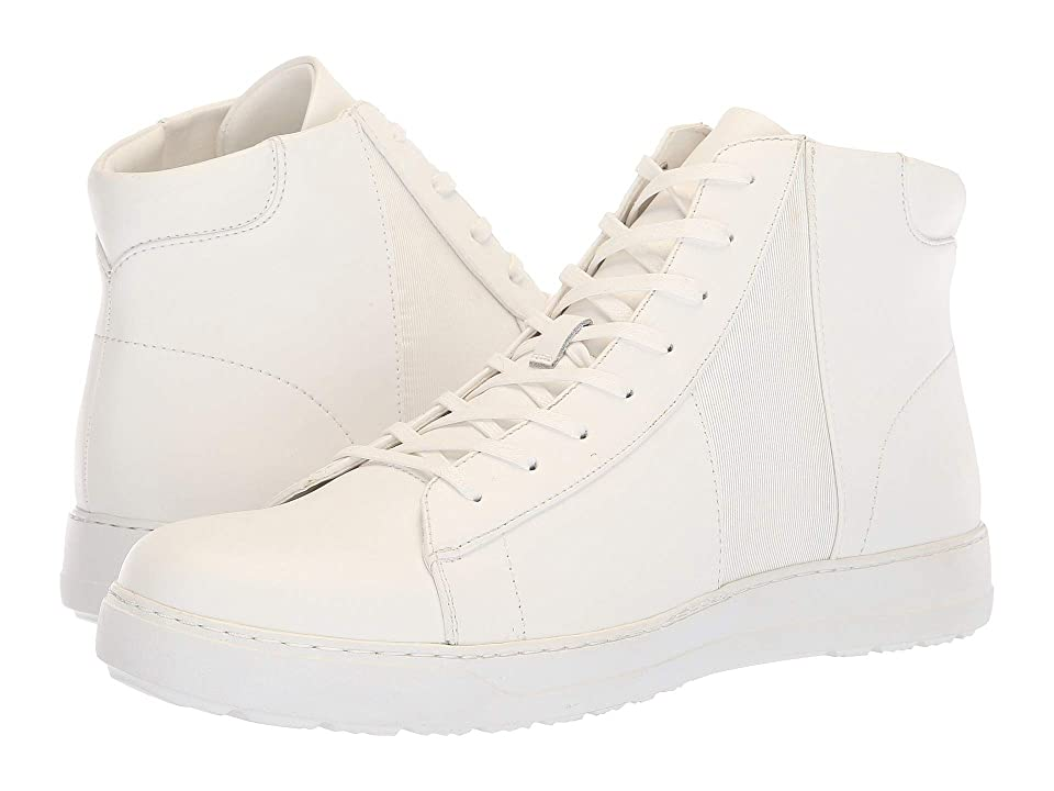 Calvin Klein Salvador (White/White Nappa Calf Leather) Men