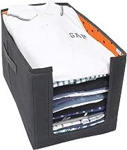Prettykrafts Fabric Shirts And Clothing Organizer - Exile, Orange
