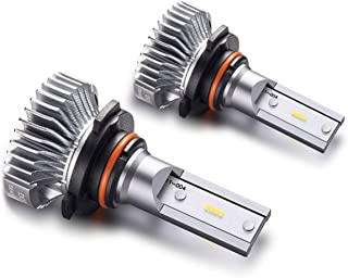 most common headlight bulbs