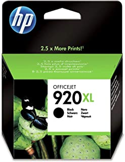 Hp High Yield Original Ink Cartridge - Cd975ae/bgx 920xl, Black