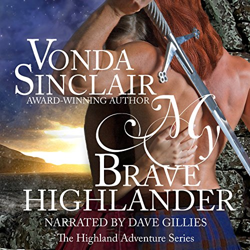 My Brave Highlander audiobook cover art