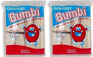 BUMBI Gelatina de Pata de Res 125 gr. - 2 Pack/Beef Leg Gelatin 4.4 oz. - 2 Pack.