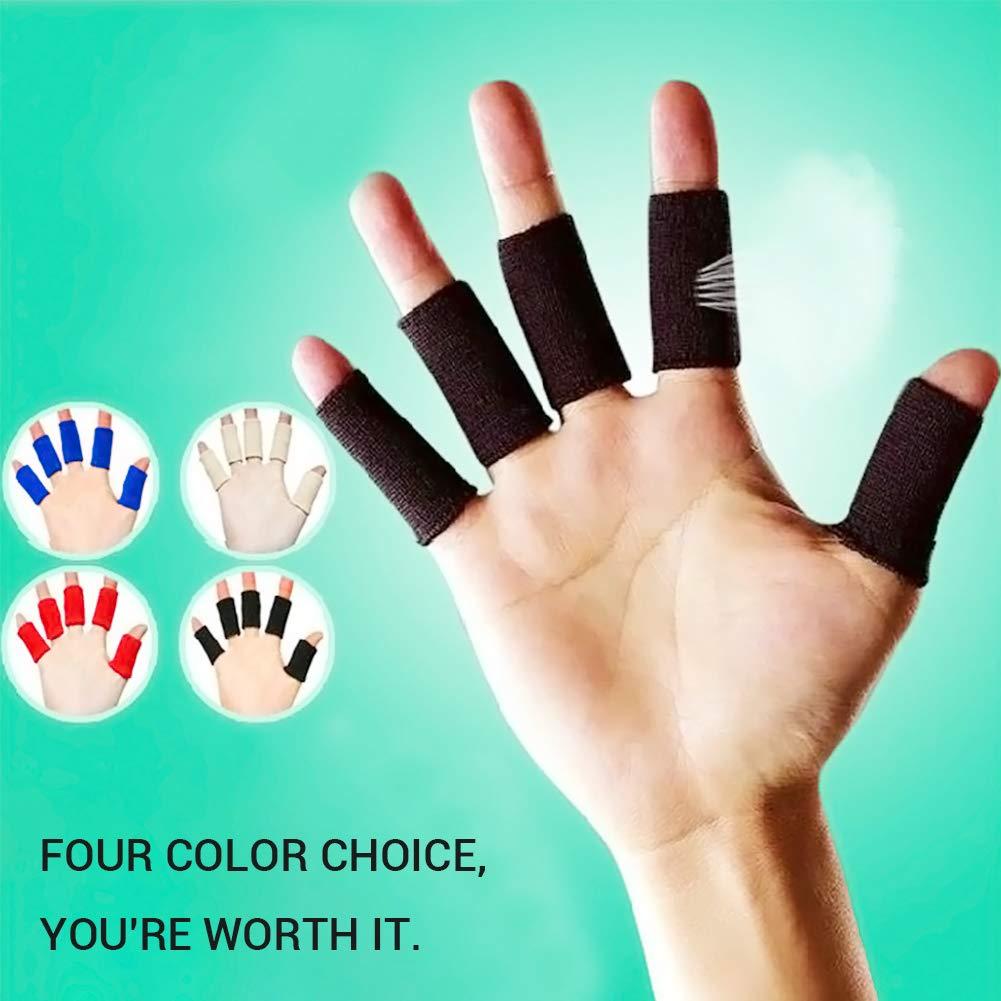 Laduup - 40 Piezas de Dedos, protección para los Dedos, Vendaje ...