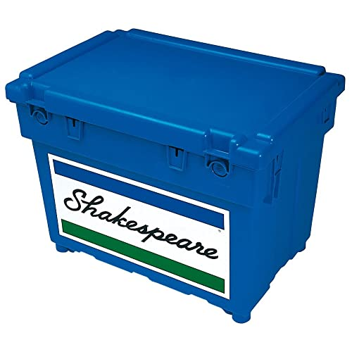 Shakespeare Fishing Fully Loaded Seatbox 1 X Extra Tray, Cusion, Padded Strap and Tackle Box