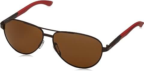 Smith Optics Salute Polarized Stainless Aviator Sunglasses (Matte Brown/Polarized Brown)