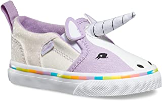 Girls Asher V Purple Unicorn Shoes Sneakers