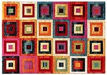 ABC Tappeti Alfombra Gioia Multicolor 133 x 190 cm