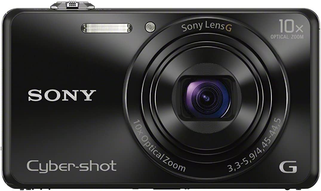 Sony DSCWX220B - Cámara de 18.2 MP (Pantalla de 2.7 Zoom 10x WiFi NFC Full HD) Color Negro