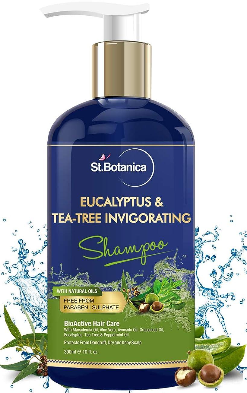 発表犬入学するStBotanica Eucalyptus & Tea Tree Oil Hair Repair Shampoo - 300ml - No SLS/Sulphate, No Parabens, No Silicon