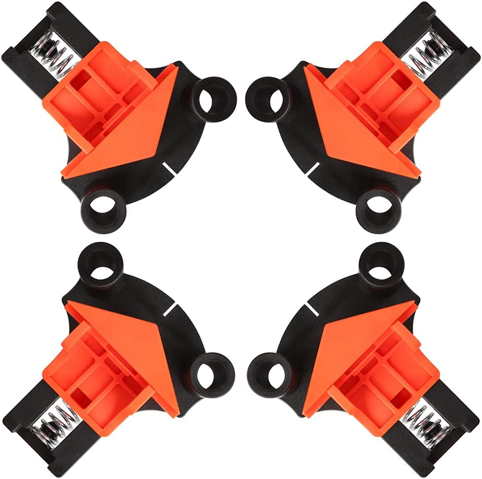 LLP Ranking TOP2 90 Degree Right Angle Clamps Woodworkin 4 Fixing pcs High order Clips