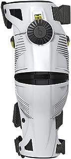 Mobius X8 Knee Braces-White/Acid Yellow-M