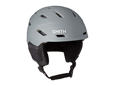 Smith Optics Mission Ski Helmet (Matte Charcoal) Snow/Ski/Adventure Helmet
