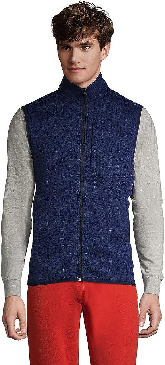 Max 41% OFF Lands' End Men's Max 67% OFF Fleece Sweater Vest