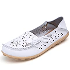 c74fb8e1f860 DUOYANGJIASHA Fashion Brand Best Show Women s Leather Loafers .