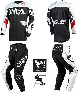 O'Neal Element Racewear Black/White Men motocross MX...