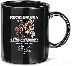 Rocky Balboa 43e verjaardag 1976-2019 Sylvester-Stallone keramische Gift grappige mokken Cups