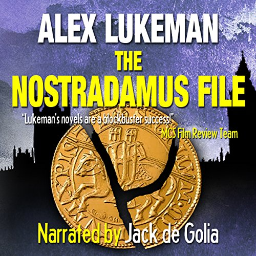 The Nostradamus File audiobook cover art