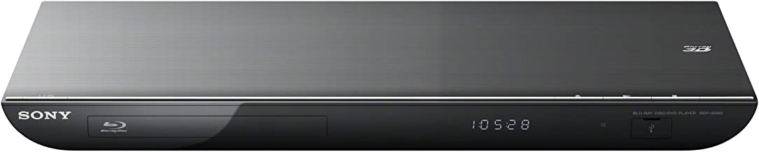 Sony BDP-BX59 1080P 3D Blu Ray & DVD Player Built-in Wifi Netflix Internet Apps