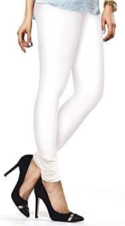 ladyline Churidar Leggings Plain Cotton Indian Yoga Workout Extra Long
