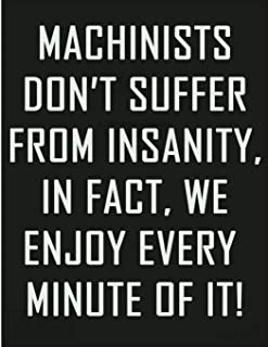 Machinists Don't Suffer From Insanity, In Fact We Enjoy Every Minute Of It: Retired Machinist Not My Problem Anymore   Lin...