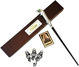 Wizarding Apothecary Harry Potter Lucius Malfoy Wand in Ollivander Box with Dark Mark tattoos