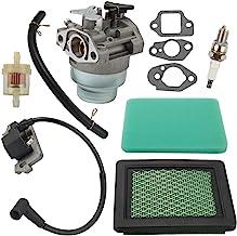 Milttor HRB216 Carburetor Air Filter Ignition Coil Fit Honda HRS216 HRT216 HRR216 HRZ216 Lawn Mower GCV160 GCV160A GCV160LA GCV160LA0 GCV160LE Engine 16100-Z0L-023