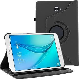 Galaxy Tab A 10.1 Case by KIQ (TM) - Slim Folio Stand Leather Cover for Samsung Galaxy Tab A 10.1 T580 - Black