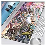 DMYONGLIAN Alfombrilla de ratón Anime Mouse Pad Pad Keyboard...