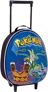 Auguri Preziosi - Mochila rígida con Ruedas tamaño pequeño (Incluye rotuladores y lápices de Colores), diseño de Pokemon