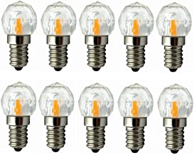Led Bulbs, Dimmable E12 Base LED Bulb 3W LED Light, COB LED Chipsets, 25W Incandescent Bulb Equivalent, 180-200LM, AC100-1...