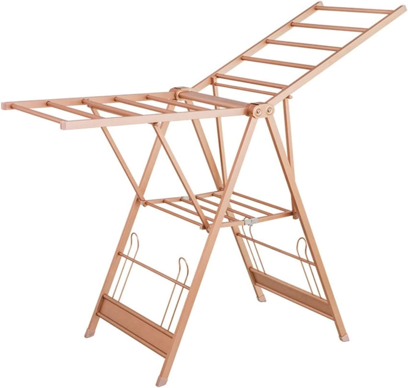 XIAOQIU Clothes Drying Rack for Airer New Shipping Free 2 Tier Laundry Max 74% OFF Alu