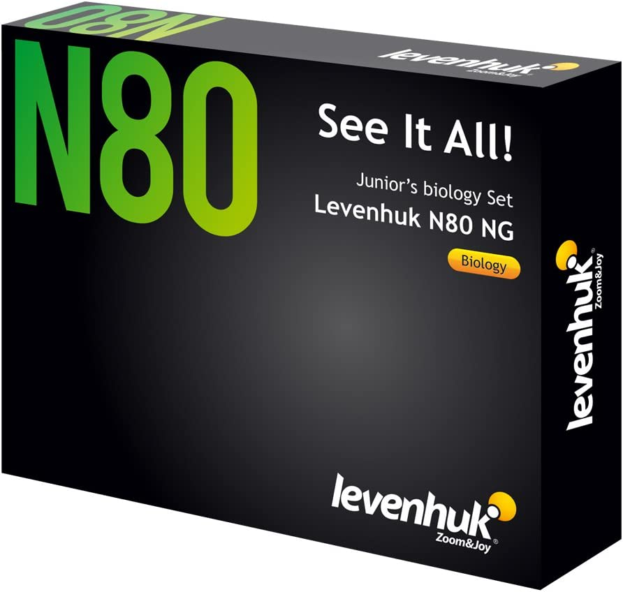 Levenhuk N80 NG See It low-pricing All Set Microscope of Prepared 80 Max 54% OFF Slides