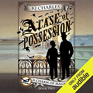 A Case of Possession                   By:                                                                                                                                 K. J. Charles                               Narrated by:                                                                                                                                 Cornell Collins                      Length: 6 hrs and 2 mins     12 ratings     Overall 4.7