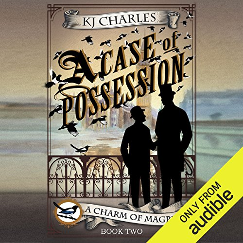 A Case of Possession audiobook cover art
