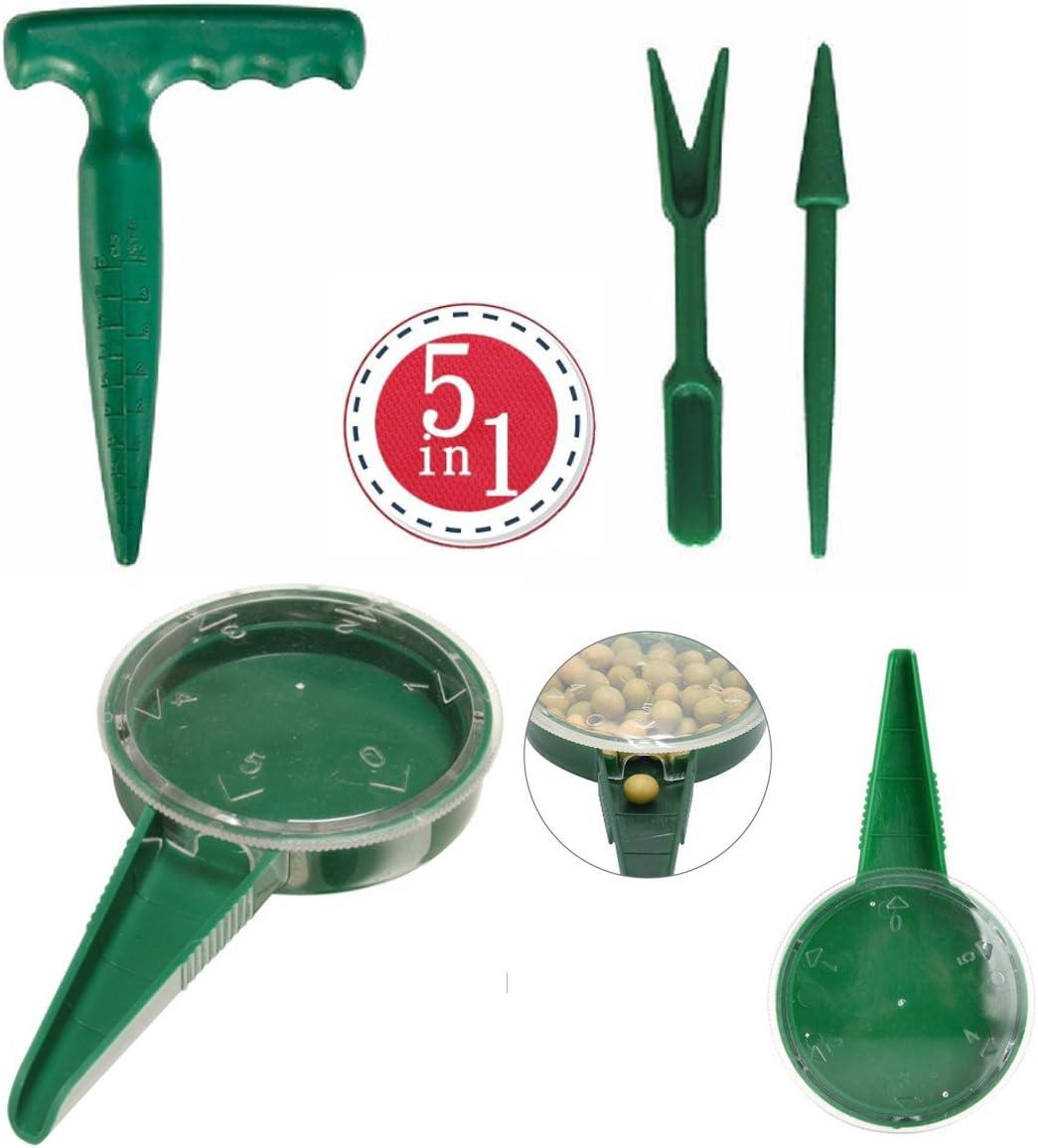 Garden Plant Dispenser Sower Planter Seed Disseminator Tool bes Gard Seeder X4C5