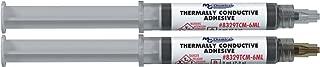 MG Chemicals 8329TCM Thermal Conductive Adhesive, Medium Cure, 14 g, 2 Dispeners