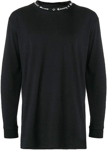 Marcelo Burlon Homme CMAB007E180010051001 Noir Coton T-Shirt