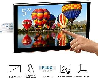 OSOYOO 5 Inch DSI Touch Screen LCD Display 800x480 for Raspberry Pi 4 3 3B+ 2